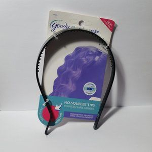 3 Goody Ouchless Flex Pressure Free Headband Black